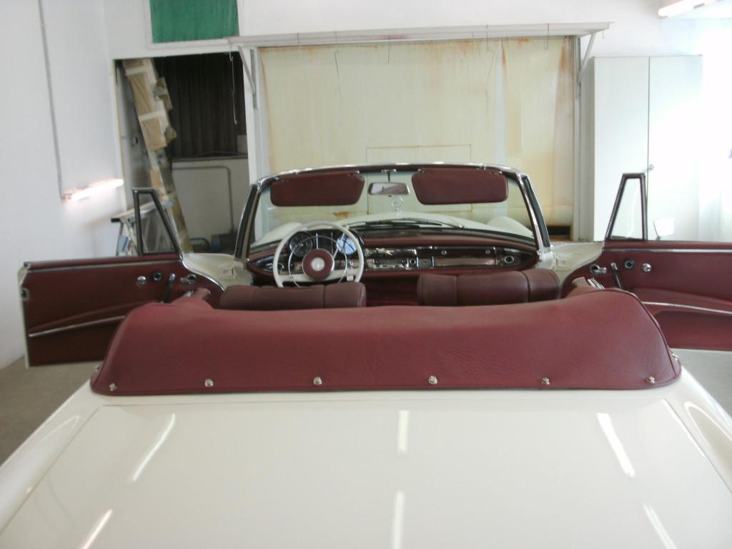 Mercedes W111 220SE Cabriolet, finale Aufbereitung