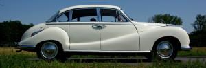 BMW 502 Barockengel, Probefahrt vor Auslieferung