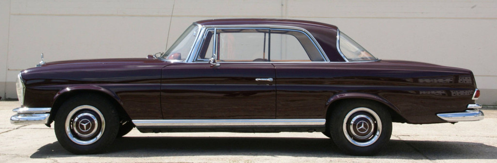 Mercedes W111 220SE Coupe als Alltagsklassiker