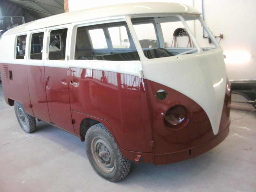 Volkswagen T1 Bus frisch lackiert