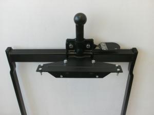 Anhängerkupplung , restauriert mit neuem Montagematerial und Anleitung