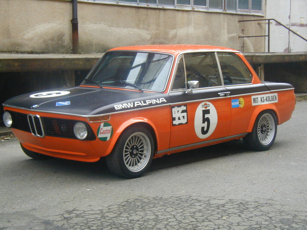 Bmw 2002 Alpina Oldtimer Restauration Drowatzky